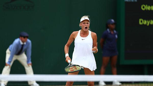 Теннисистка Даяна Ястремская. Архивное фото