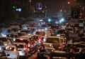 Дорожное движение в Киеве