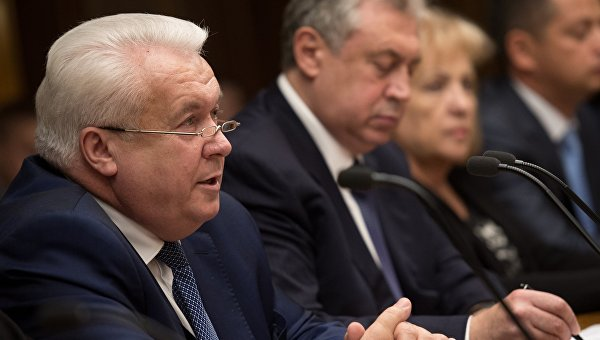 Бывший народный депутат Украины Владимир Олийнык. Архивное фото