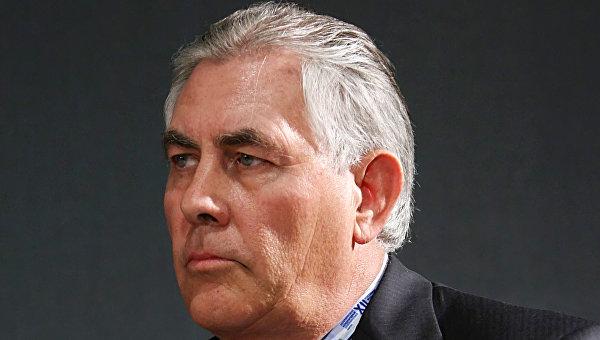 Председатель Совета директоров и генеральный директор ExxonMobil Рекс Тиллерсон