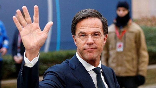 Премьер-министров Нидерландов Марк Рютте