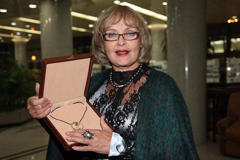 Актриса Ада Роговцева. Архивное фото