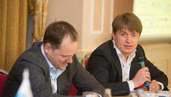 Андрей Герус (справа). Архивное фото