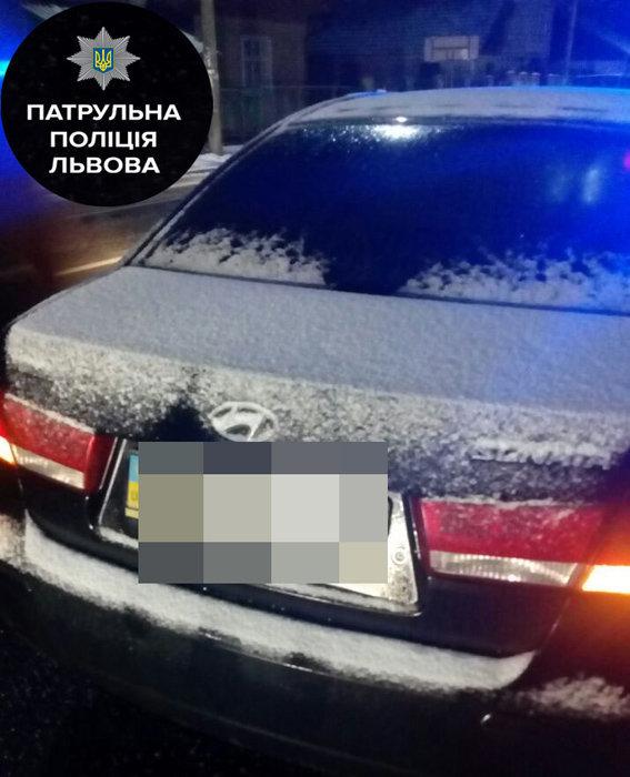 ВоЛьвовской области нетрезвый судья заснул зарулем