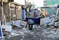 Демонтаж МАФов на столичной Оболони.