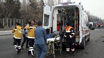 Теракт в турецком городе Кайсери