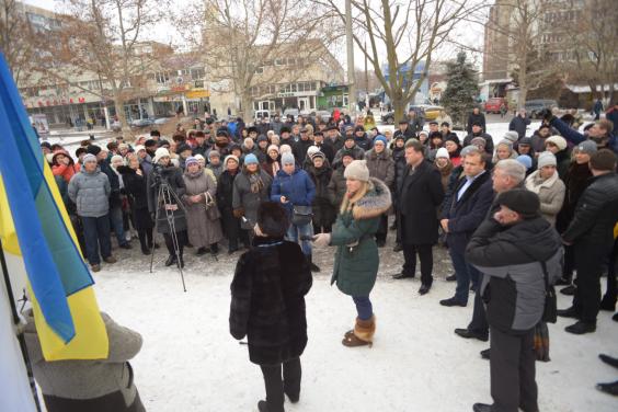 Под Одессой протестуют против закрытия ОПЗ