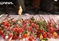 Сеул: красные розы в защиту президента