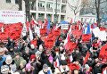 Акция протеста у Конституционного суда в Варшаве