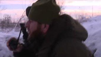 Контр-террористическая операция под руководством Кадырова в Грозном. Видео