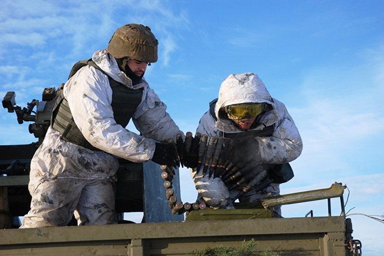 Батальонные тактические учения ВДВ под Житомиром