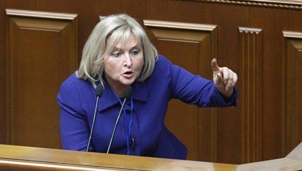 Замглавы фракции Блок Петра Порошенко Ирина Луценко