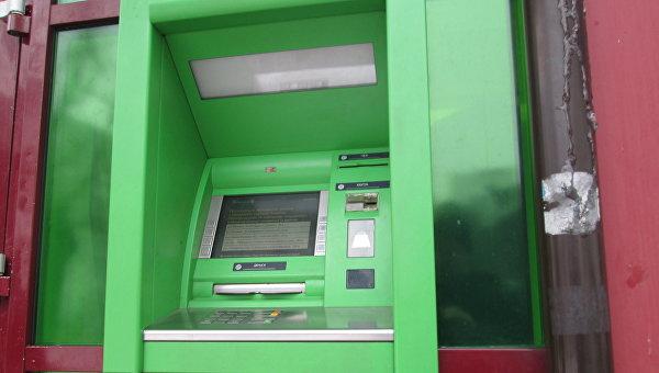 Неработающий банкомат ПриватБанка