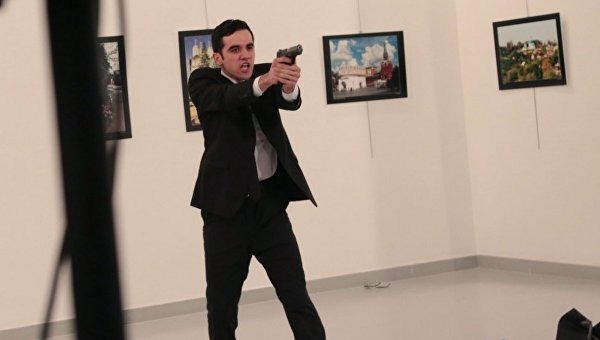 Нападение наКарлова совершил Мевлют Мерт Алтынташ 1994 года рождения— МВД Турции