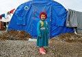 Дети в лагере беженцев из иракского Мосула
