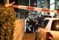 Швейцарская полиция на месте стрельбы в Цюрихе