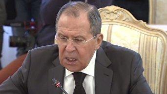 Лавров об убийстве посла РФ в Турции