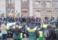 Протест под КГГА владельцев снесенных МАФов