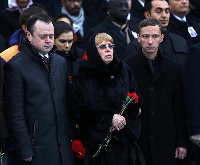 Прощание в аэропорту Анкары с российским послом