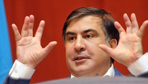 Лидер Движения новых сил, бывший глава Одесской области Михаил Саакашвили. Архивное фото