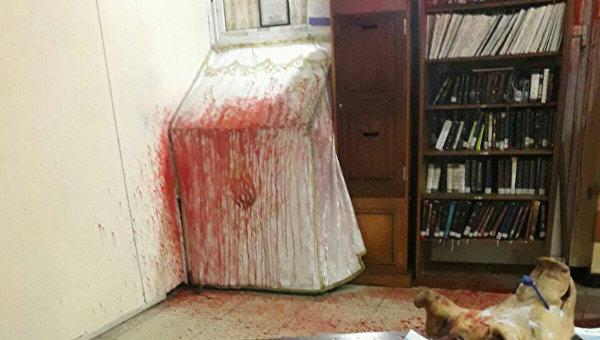 В Умани осквернили синагогу на могиле Раби Нахмана