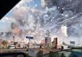 Взрыв пиротехники на рынке в Мексике