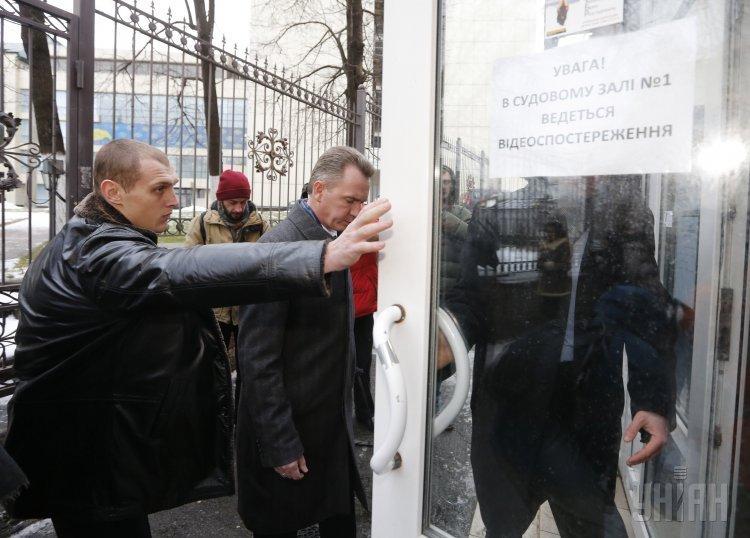 Михаил Охендовский в суде