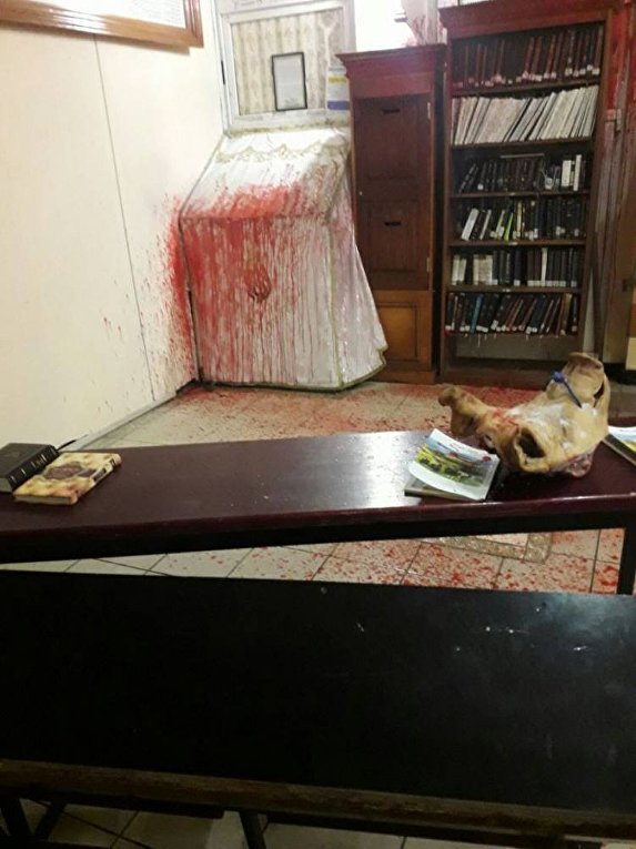 Нападение на синагогу в Умани