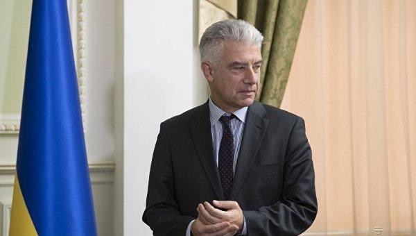 МИД Украины вызвал германского посла из-за заявлений оДонбассе