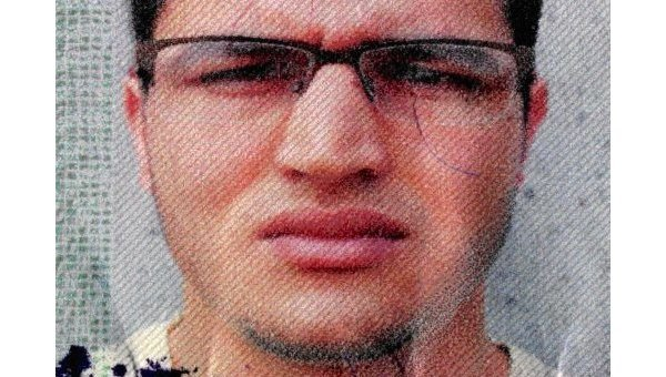 Тунисец Анис Амри - подозреваемый в совершении теракта в Берлине