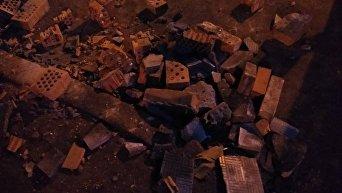 Демонтаж киосков и столкновения на КПИ в Киеве