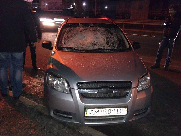 Демонтаж киосков на КПИ в Киеве