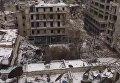 Вид на Алеппо с беспилотника