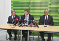 Яков Смолий, Александр Данилюк и Александр Шлапак