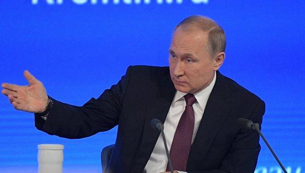 Путин: РФ несчитает себя виновной всобытиях вУкраинском государстве