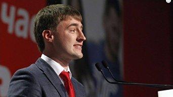 Первый заместитель директора департамента благоустройства Киевской горгосадминистрации Тарас Панчий.