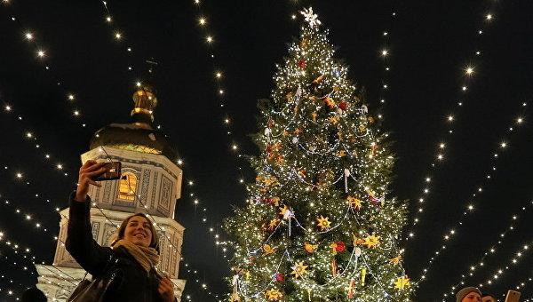 Рождество в Киеве, Украина