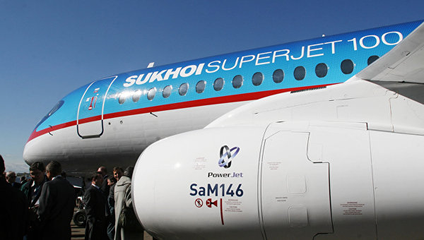Росавиация требует проверить самолет Sukhoi Superjet 100 из-за дефекта