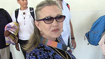 Актриса Керри Фишер