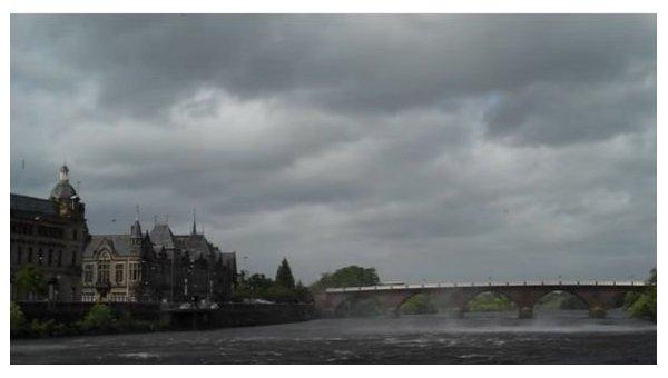Чудовищные последствия— шторм вШотландии