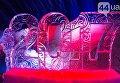 Выставка ледяных скульптур в Киеве