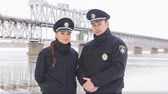 Поздравление патрульной полиции с Новым годом и Рождеством Христовым. Видео