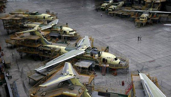 Линия по производству самолетов на ГП Антонов