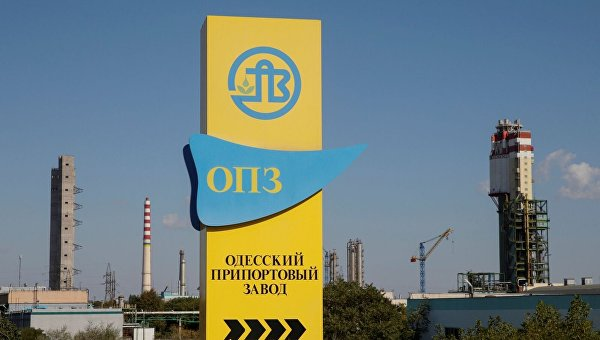 Одесский припортовый возобновил производство карбамида иаммиака