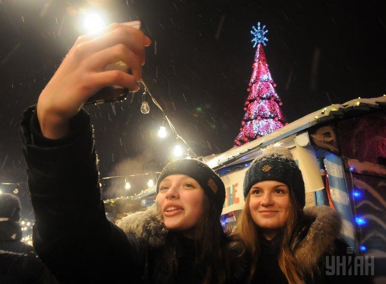 Новогодняя елка в Харькове