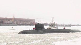 Атомная подлодка Подмосковье ВМФ РФ  вернулась в строй после модернизации. Видео