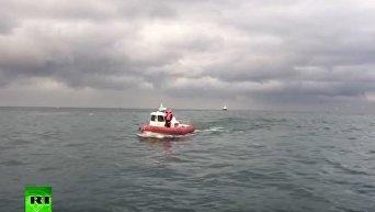 Беспилотник облетел место крушения Ту-154. Видео