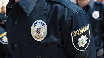 Полтавский полицейский. Архивное фото