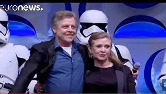 Умерла Кэрри Фишер, сыгравшая принцессу Лею в Звездных войнах
