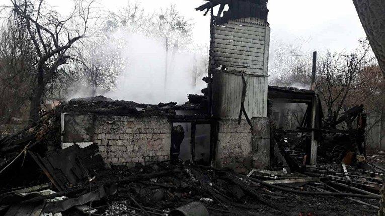 Пожар в Киеве, в котором погибли 4 ребенка